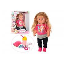 Кукла пупс шарнирная Любимая сестра с аксессуарами BLS002В, Warm Baby, Беби Берн