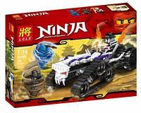 "Конструктор Lele 31046 Ninja (аналог Lego Ninjago 2263) ""Турбо Шредер"""