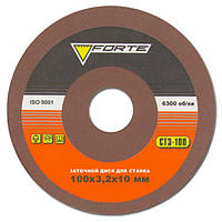 Заточной диск Forte 100х3,2х10 мм