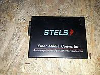 Одномодовый WDM медиаконвертер для передачи сигнала на расстояние до 20 км STELS stels-120b5l