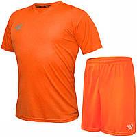 Комплект футбольной формы SWIFT VITTORIA COOLTECH Оранжевая (Размер XL/50)