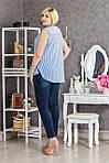Приваблива повсякденна блуза вільного фасону, фото 2