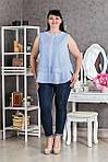 Приваблива повсякденна блуза вільного фасону, фото 3
