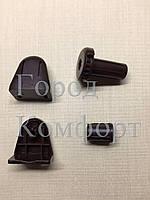 Комплект для тканевых ролет коричневый