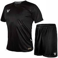 Комплект футбольной формы SWIFT VITTORIA COOLTECH Черная (Размер XL/50)