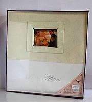 Фотоальбом с кожаной обложкой Размер 24.5-29-2см, магнитные листы