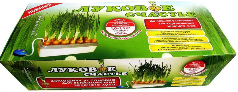 Гидропонная установка для выращивания зеленого лука Луковое счастье - Интернет-магазин  «NETtorg» в Киеве