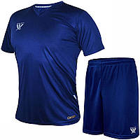 Комплект футбольной формы SWIFT VITTORIA COOLTECH Синяя (Размер XL/50)