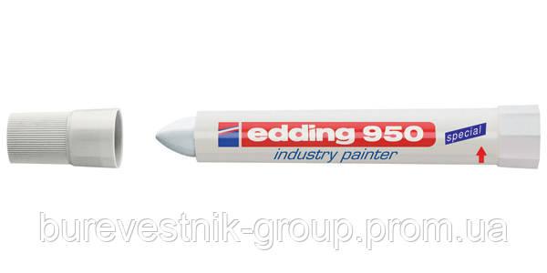 "Маркер перманентный Edding E-950 ""Industry painter"" белый"
