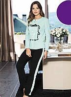 Женская пижама Shirly 21134, костюм домашний с брюками
