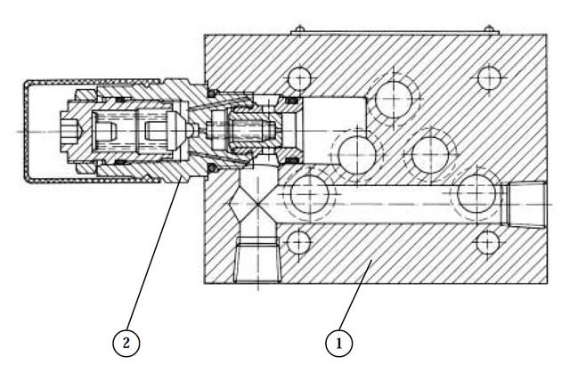 Пілотований запобіжний клапан типу UZPR10x