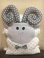 Подушка бортик Барашек в детскую кроватку