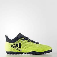 Мужские футбольные бутсы(сороконожки)Adidas X Tango 17.3 TF(Артикул:CG3727)
