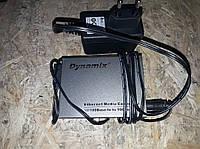 Одномодовый WDM медиаконвертер для передачи сигнала на расстояние до 20 км Dynamix-20KM 10/100M
