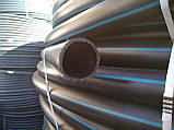 Труба поліетиленова 63 мм 6 атм чорно синя, фото 3
