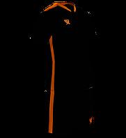 Комплект детской футбольной формы SWIFT PRIORITET Черно-оранжевая (2XS/146 см)