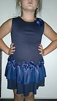 Платье-сарафан, девочка, школа, оптом