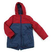 """Куртка для хлопчика """"Brilliant"""" (Зріст 122, Зелений з синім)"""