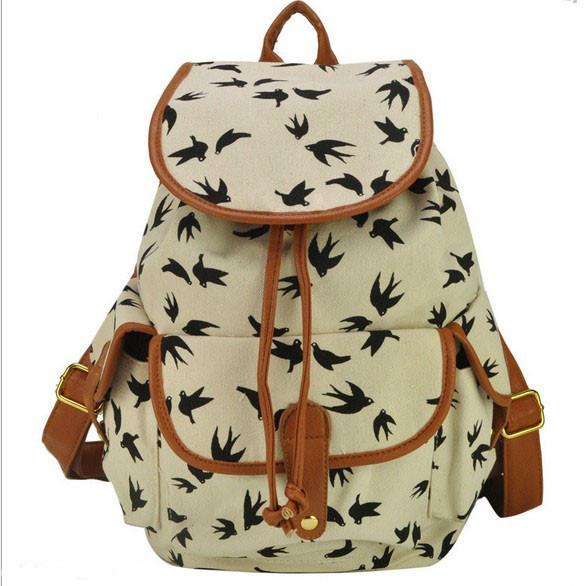 Городской рюкзак. Модный рюкзак. Женский рюкзак. Современные рюкзаки Softback. Рюкзаки с рисунком. Код: КСР6-7