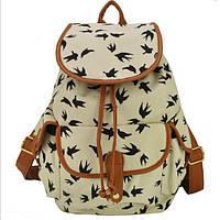 Городской рюкзак. Модный рюкзак. Женский рюкзак. Современные рюкзаки Softback. Рюкзаки с рисунком. Код: КСР6-7, фото 1