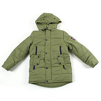 """Куртка для хлопчика """"Brilliant"""" (Зріст 152, Світло-сірий)"""