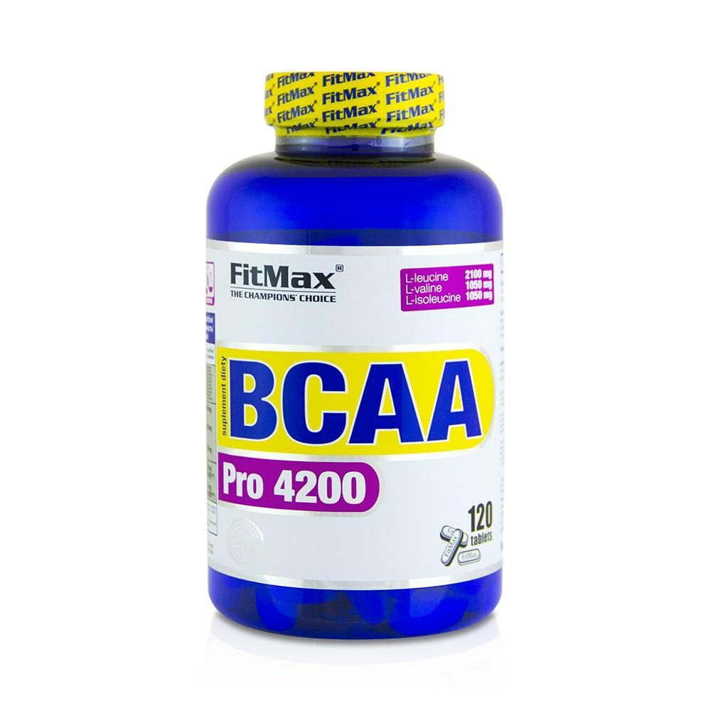 FitMax BCAA Pro 4200 120 tab, ФитМакс БЦА Про 120 таблеток