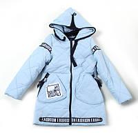 """Куртка для дівчинки """"Oshen"""" (Зріст 128(40), Блакитний)"""