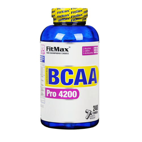 FitMax BCAA Pro 4200 240 tab, ФитМакс БЦА Про 240 таблеток