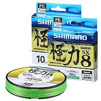 Шнур Shimano Kairiki PE 150м 0,18мм Mantis Green
