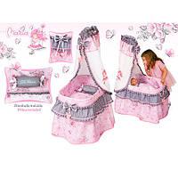 "Кроватка для куклы 51017 ""Maria"", 37х60х100 см (Y)"