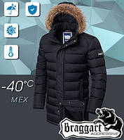 Мужская зимняя куртка Braggart на тинсулейте и меховой подкладке 50,52