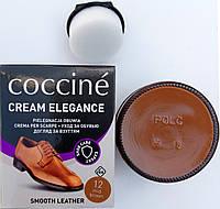 Крем Средне коричневый Кочине Coccine для гладкой кожи с губкой 50мл, фото 1