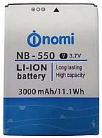 Аккумулятор для Nomi i550 NB-550 3000 mAh