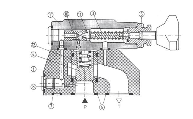 Пилотируемый предохранительный клапан типа DB-DBW30