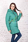 Теплая женская куртка зима 2017-2018 - (модель кт-161), фото 5