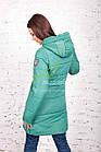 Теплая женская куртка зима 2017-2018 - (модель кт-161), фото 6