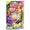 Кукла Русалочка с лягушонком и одеждой