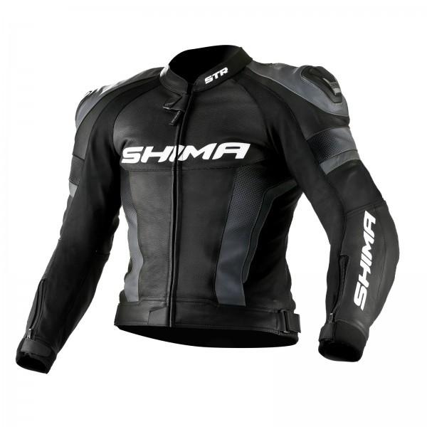 81ffd14a Кожаная мотокуртка Shima STR black size S, цена 8 829 грн., купить в ...
