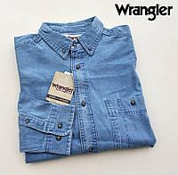 Мужская джинсовая рубашка Wrangler®(США) (L) /100% хлопок /Оригинал из США