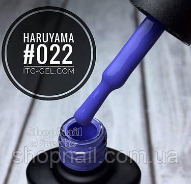 Гель-лак Haruyama №022 (светло синий), 8 мл, фото 2