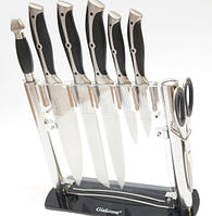 Набор кухонных ножей Giakoma G-8119 с подставкой