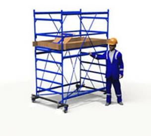 Вышка тура ПСРВ 1.6х0.8м (1+1) рабочая высота 3,6м