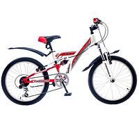 """Велосипед собранный почта 20"""" Formula KOLT AM2 14G St  красно-белый  2015"""