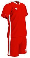 Комплект детской футбольной формы SWIFT PRIORITET Красно-белая (XS/158 см)