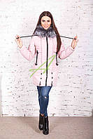 Молодежная женская куртка сезона зима 2017-2018 - (модель кт-173)
