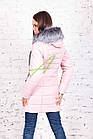 Молодежная женская куртка сезона зима 2017-2018 - (модель кт-173), фото 3