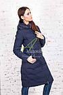 Удлиненное зимнее пальто для женщин - (модель кт-184), фото 2