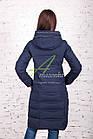 Удлиненное зимнее пальто для женщин - (модель кт-184), фото 3