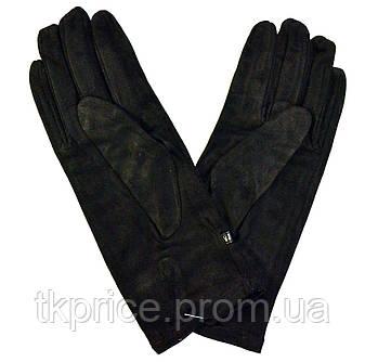 Женские замшевые перчатки без подкладки , фото 2