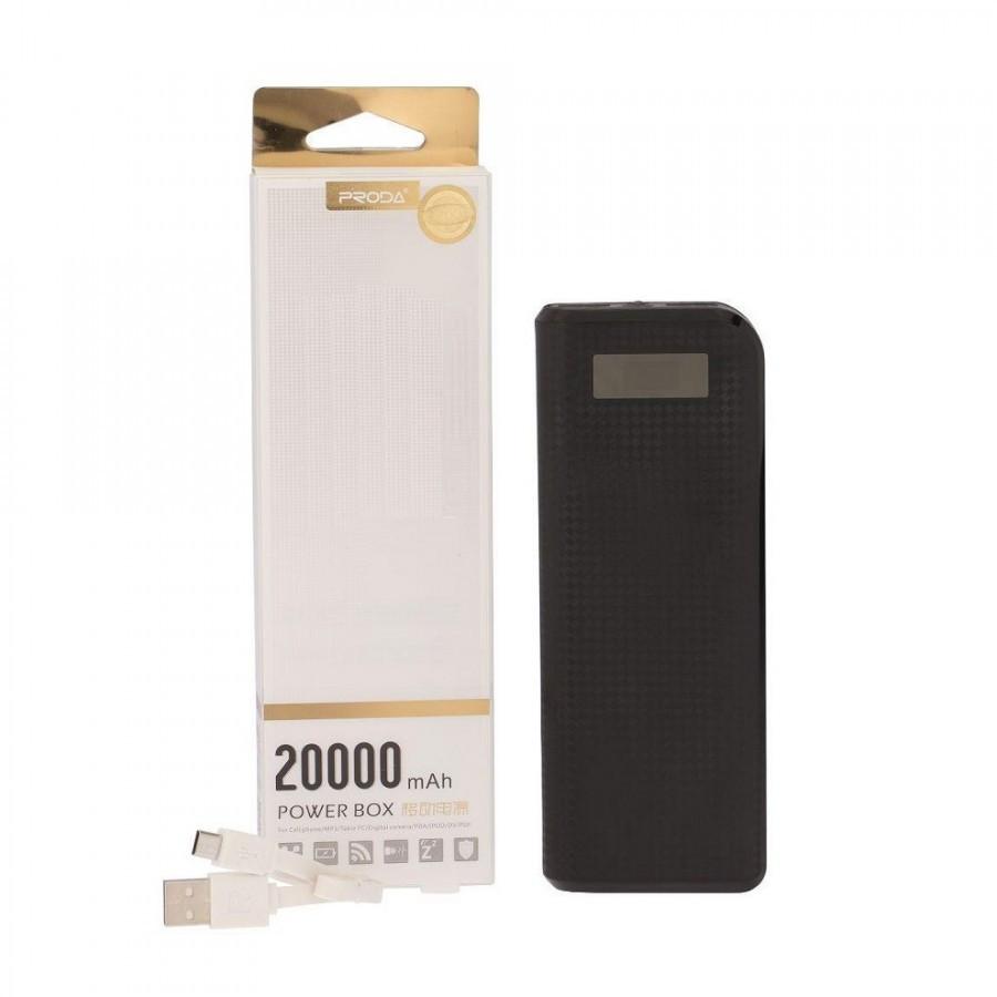 Универсальное зарядное устройство Power Bank Remax Proda 20000 mAh